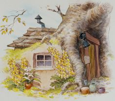Pooh's House is a location in the Winnie the Pooh franchise. Like the others, Pooh lives in a. Tigger And Pooh, Winnie The Pooh Quotes, Pooh Bear, Disney Winnie The Pooh, Disney Love, Eeyore, Whinnie The Pooh Drawings, Illustrations, Illustration Art
