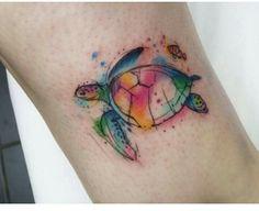 Turtle watercolor