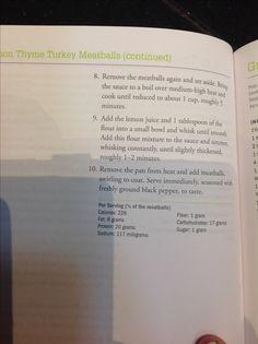 Turkey meatball part 2