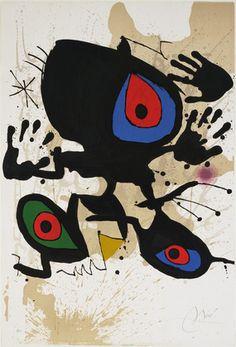 Joan Miró, Untitled (1973).