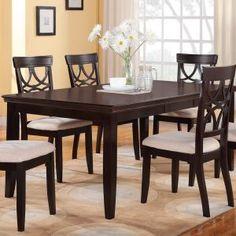 Espresso Finish Dining Room Tables