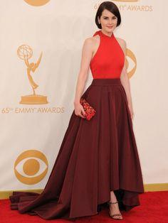 Best-dressed: Michelle Dockery emmys 2013 fashion