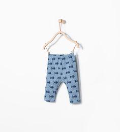 ZARA - MINI - Fish print leggings