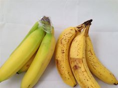 Bananas will stay yellow longer if you put some plastic wrap around them.