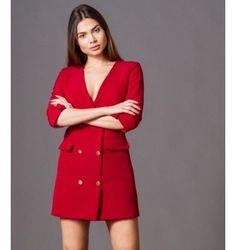 Σακάκι Μίνι Φόρεμα με Χρυσά Κουμπιά - Μπορντό  6924036ab67