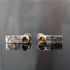 Image result for hammered jewellery Diamond Earrings, Stud Earrings, Hammered Silver, Designer Earrings, Earrings Handmade, Studs, Artisan, Jewelry Design, Jewels