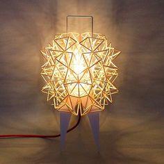 Enjoy your last day of 2015 ! Pégase P by barbadine design  #barbadinedesign #handmade #madeinfrance #design #lighting #light #lamp #lampe #3dprinting #impression3d #bois #wood #bulb #ampoule #porcelain #porcelaine #paris by ludovic_faledam