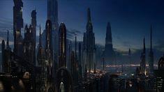 Wallpaper City Buildings, Cityscape, Futuristic, Star Wars Star Wars Logos, Film Star Wars, Star Wars Art, Star Wars Wallpaper, City Wallpaper, 1080p Wallpaper, Cityscape Wallpaper, Wallpaper Awesome, Windows Wallpaper