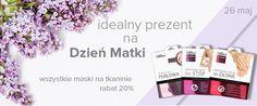 Dzień Matki - 20% na wszystkie maski na tkaninie L'biotica. #dzieńmatki #rabat #maskinatkaninie #lbiotica #promocja #biutiqpl