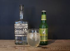 Owney's Original Small Batch Rum with Regatta Ginger Beer