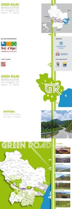 Green Road Basilicata  leaflets for valdagriturismo.com