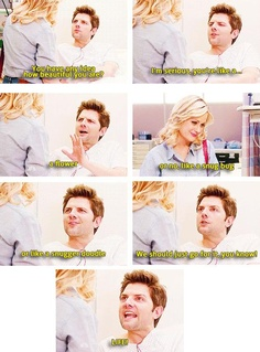simply going to explain to the crowd that love is everywhere and they have to surrender to the flow of the universe, you know? Best Tv Shows, Best Shows Ever, Movies And Tv Shows, Favorite Tv Shows, Parks And Recs, Ben Wyatt, Parks Department, Comedy Tv, Parks And Recreation