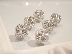 Swarovski Elements Rhinestone 10mm Beads 5201 by houseofTROCK, $14.00