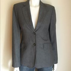 Benetton Grey Blazer