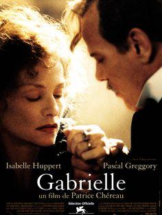 Gabrielle est un film de Patrice Chéreau avec Isabelle Huppert, Pascal Greggory. Synopsis : Une maison où on aime venir. De longues soirées où on écoute, regarde, rit, affirme une chose puis son contraire. C'est l'avantage des cercles d'habit