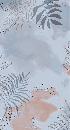 Watercolor Wallpaper Iphone, Phone Wallpaper Images, Cartoon Wallpaper Iphone, Cute Patterns Wallpaper, Iphone Background Wallpaper, Aesthetic Pastel Wallpaper, Pretty Wallpapers, Simple Wallpapers, Hippie Wallpaper