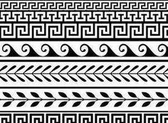 Greek key pattern mosaic - Stock Photo - iStock