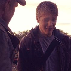 Ahhh. Ben crying. I know it's a pretty old  pic (Season 2, episode , 'Compass' to be exact) but it's still so sad