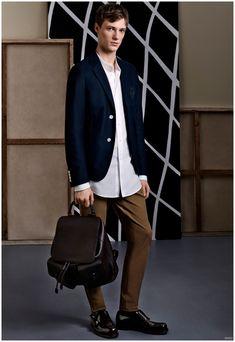 Gucci Pre Fall 2015 Menswear Collection: Casual Chic + Equestrian Styles Charm