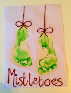 MistleTOES #Christmas #craft #shop #cbias