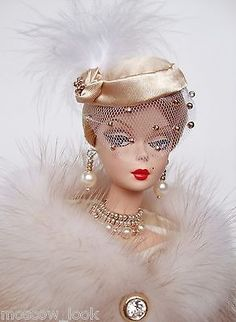 OOAK Fashion for Silkstone/Vintage Barbie or Fashion Royalty by M_L