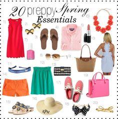 Prep, Please!: Top 20 {preppy} Spring Essentials
