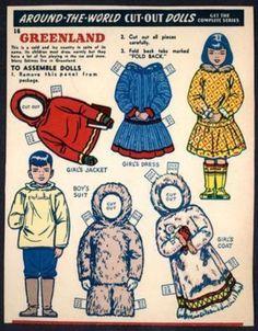 "Kellogg's ""Around-the-World Cut-Out Dolls"" - Greenland (1859) (06/23/2013)"