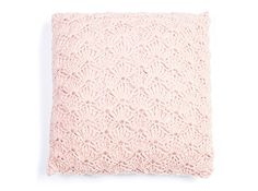Kussen in schelpsteek/cushion cover in shell stitch pattern | Veritas - haakpatroon in Nederlands/crochet pattern written in Dutch