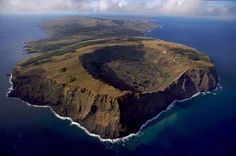 Image Detail for - Easter Island from the air
