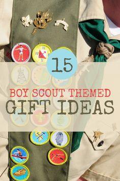 Boy Scout gift ideas www.spaceshipsandlaserbeams.com