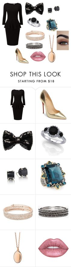 """Gender-bent  Draco Malfoy."" by malfoy-granger-weasly ❤ liked on Polyvore featuring Christian Louboutin, Carole, Konstantino, Anne Klein, Chico's and Monica Rich Kosann"
