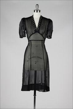 Vintage Dress 1940's