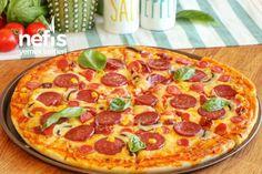 Videolu anlatım Evde Pizza Tarifi Nasıl Yapılır? 161.412 kişinin defterindeki Evde Pizza Tarifi'nin videolu anlatımı ve deneyenlerin fotoğrafları burada. Flan, Pepperoni, Pizza Hut, Hamburger, Smoothies, Recipies, Pasta, Cooking, Desserts