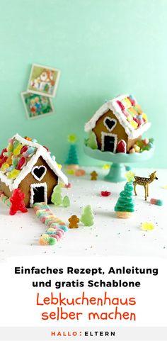 Das Lebkuchenhaus wurde durch Hänsel und Gretel weltberühmt. Es muss aber nicht gleich eine lebensgroße Variante des Kinderbuchklassikers sein. Backe mit deinem Nachwuchs eine kleinere Variante, die nicht nur gut schmeckt, sondern auch noch eine tolle Weihnachtsdekoration abgibt. #Lebkuchenhaus #Weihnachten #Backen Gingerbread, Bird, Outdoor Decor, Home Decor, Craft Tutorials, Homemade Home Decor, Birds, Decoration Home, Birdwatching