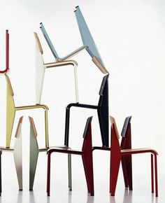 Standard Chair by Jean Prouve