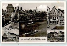 51763520 Bad Wimpfen Loewenbrunnen Dominikaner Kloster Gasthaus Hohenstaufenpf | eBay