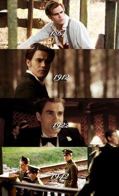 Stefan Salvatore evolution