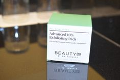Removing Makeup that Facial Wash Left Behind: Advanced 10% Exfoliating Pads from BeautyRX by Dr. Schultz