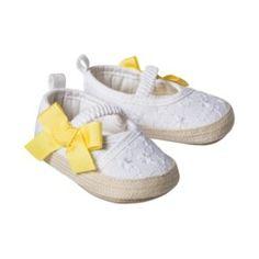 white yellow bow