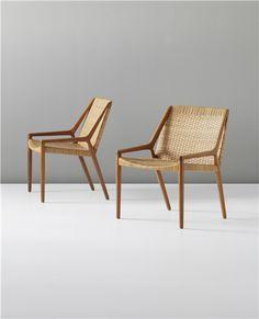 PHILLIPS : UK050312, EJNAR LARSEN AND AKSEL BENDER MADSEN, Pair of lounge chairs