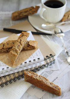 Ginger almond biscotti. Grain & gluten free.