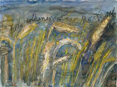 Anselm Kiefer, Your Golden Hair, Margarete on ArtStack #anselm-kiefer #art #FredericClad