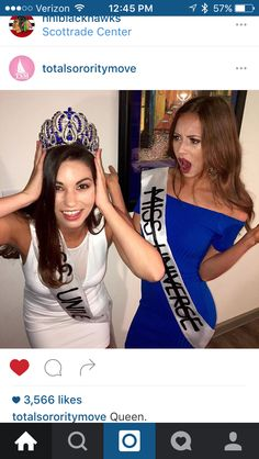 TSM best friend costume miss universe and accidental miss universe