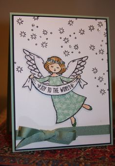 Joyous Angel by CAKath - Cards and Paper Crafts at Splitcoaststampers
