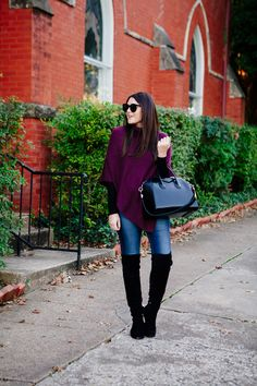 kendi-everyday-purple-poncho