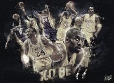 Kobe Bryant 'Collector Book' Collage - Hooped Up