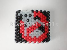 Ghost Busters inspired kandi bracelet cuff