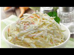 Coleslaw recipe - 3 tips for worlds best slaw Vegetable Salad, Vegetable Dishes, Vegetable Recipes, Kfc Coleslaw, Coleslaw Salad, Gazpacho, Picnic Side Dishes, Vinaigrette, Cabbage Salad Recipes