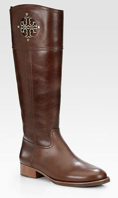 Tory Burch. This is like the 3rd time I've pinned these boots today. I'm just so in love.