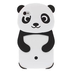3D disegno del panda del gel di silice Custodia morbida per iPhone 4/4S – EUR € 5.93